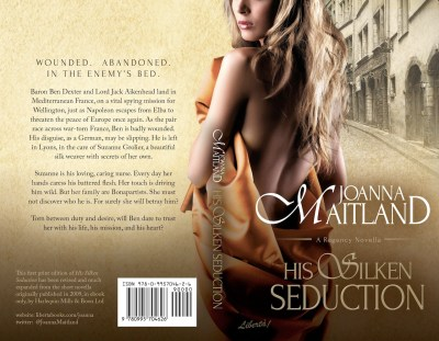 His Silken Seduction by Joanna Maitland Paperback Cover