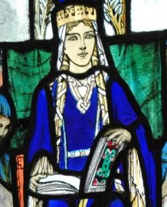 Queen (Saint) Margaret of Scotland after whom Queensferry is named