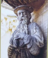 Stirling's statue of James V as Old Testament prophet