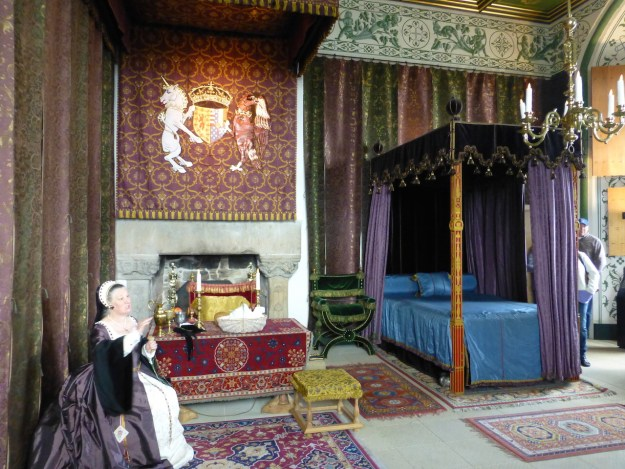Stirling Royal Palace: Queen Mary of Guise's State Bedchamber