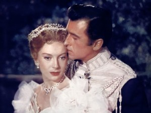 Not a Royal wedding. Deborah Kerr and Stewart Granger in Prisoner of Zenda