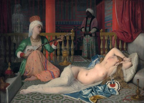 Ingres: Odalisque with a Slave (1839)