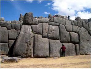 Peru Sacsay wall
