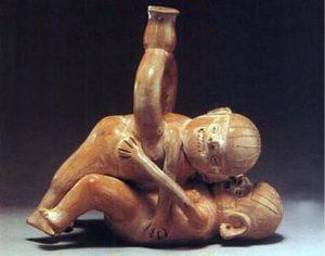 Peru erotic pottery