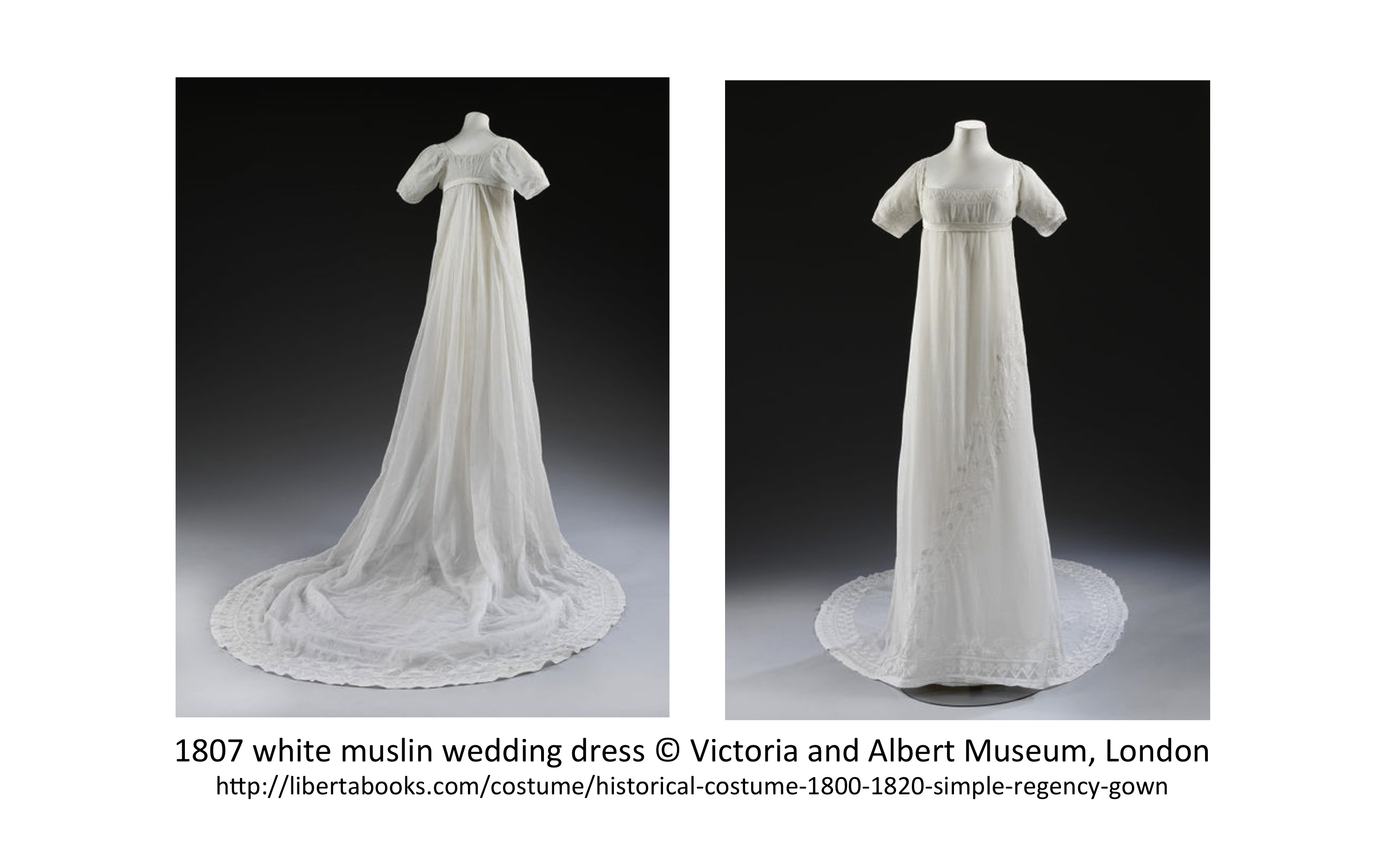 Historical Costume 1800-1820 : the simple Regency gown? - Liberta Books