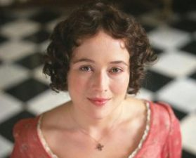 female images: Jennifer Ehle as Lizzie Bennet