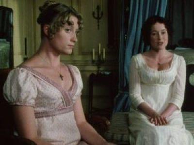 Susannah Harker (Jane) & Jennifer Ehle (Lizzie), Pride & Prejudice, BBC, 1995