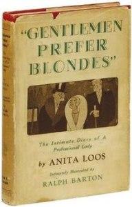 Fictional Blonde Gentlemen Prefer Blondes