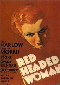 Fictional Blonde Red Headed Woman poster