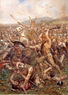 Varus Massacre (Varusschlacht), Otto A Koch, 1909