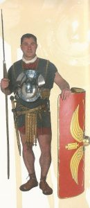Roman soldier 1st century AD on the frontier