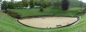 Roman amphitheatre, Trier, Germany