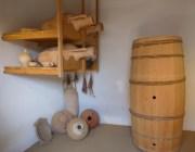 replica Roman amphorae barrel
