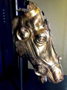 gilt bronze horse head Waldgirmes 4BC