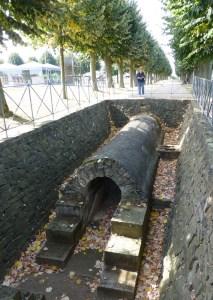 Roman water infrastructure Xanten, frontier town