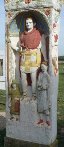 Xanthen death monument, frontier town