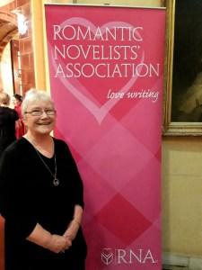 Liz Fielding, winner, RNA 2019 outstanding achievement award