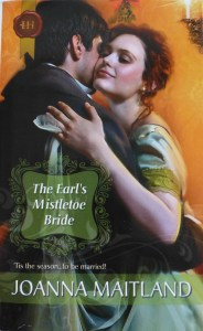 Cover of The Earl's Mistletoe Bride by Joanna Maitland