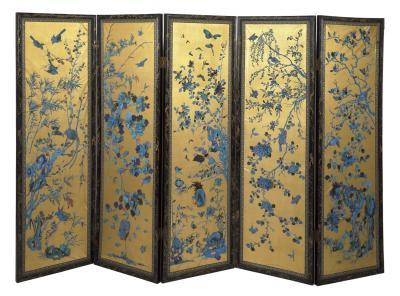 chinese screen © Victoria & Albert Museum, London