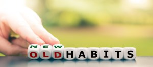 old habits to new, remedy for habit words