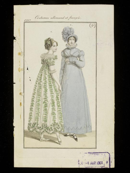1817 ballgown and walking dress © Victoria and Albert Museum, London
