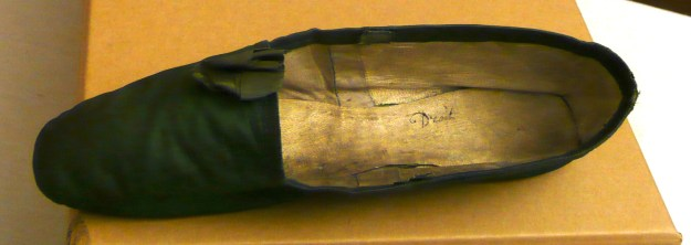 evening shoe, Berrington Hall collection
