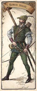Christmas Reading Robin Hood