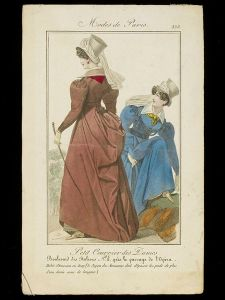 1830 print of riding habit © Victoria & Albert Museum, London
