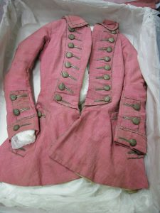 pink riding habit jacket, Hereford collection