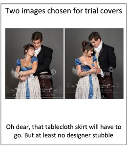 Is it historically accurate to wear a tablecloth over a Regency gown?
