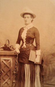 Margaret Fountaine lepidopterist 1886