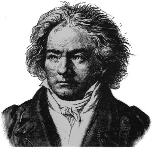 Beethoven in need of a hairdresser