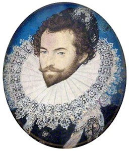 Sir Walter Raleigh with beard