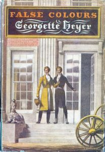 False Colours by Georgette Heyer Cover by Barbosa