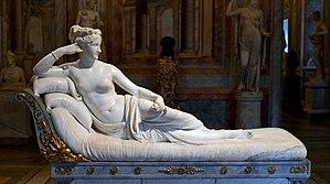 Pauline Borghese as Venus VIctrix