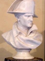 Bust of Napoleon in Villa dei Mulini, Elba