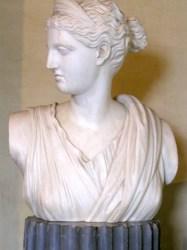 Bust, possibly Pauline Borghese, in Villa dei Mulini, Elba