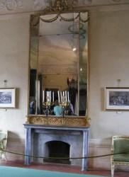 Mirror in Grand Reception, Villa dei Mulini, Elba