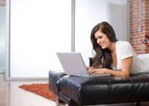 trabajo desde casa con un blog