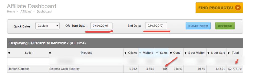 resultados ganancias 15 meses