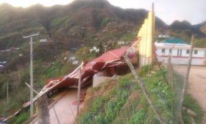 Abandonadas comunidades afectadas por lluvias