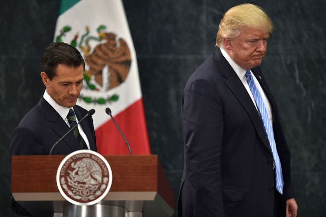 MEXICO-US-PENA NIETO-TRUMP