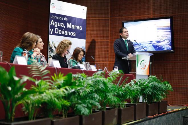 El Senador Raúl Bolaños-Cacho Cué trabaja para reducir la acidificación de mares, océanos y ríos