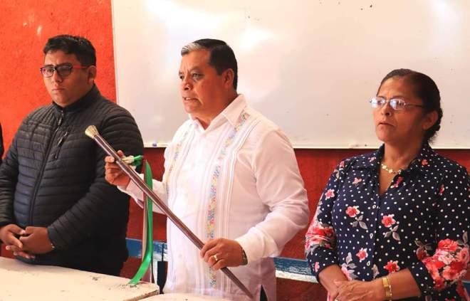 Gobierno municipal de Tlaxiaco toma protesta de ley a nuevas autoridades auxiliares de San Pedro Yosotatu y El Vergel