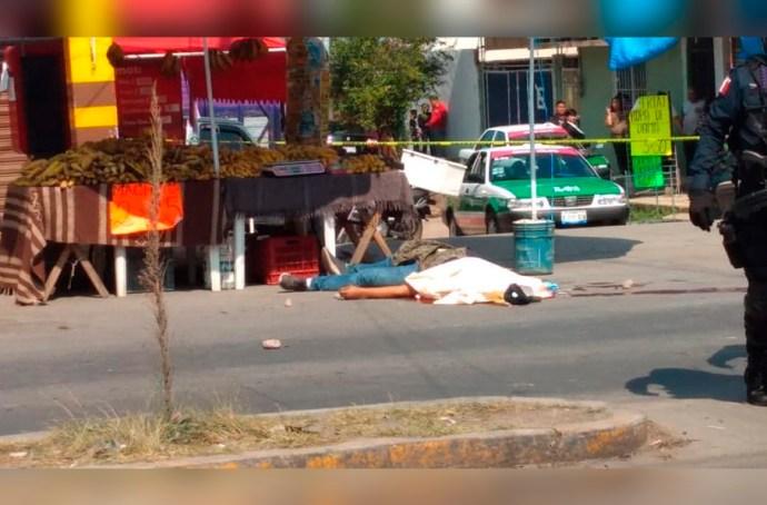 Vendedor de frutas fue asesinado en la calle Atenas Veracruzana