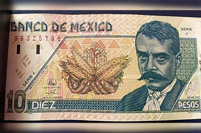 billete de Emiliano Zapata