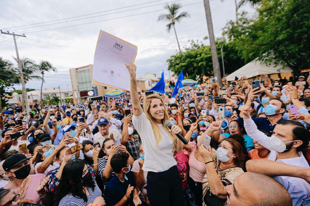 Paty Lobeira Alcaldesa Electa Veracruz