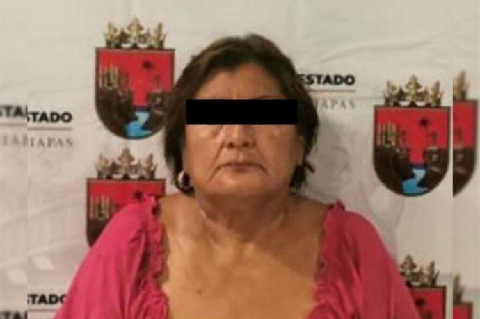 """Detienen a la exalcaldesa de Suchiate, """"La loba"""", por irregularidades en el manejo de recursos públicos"""