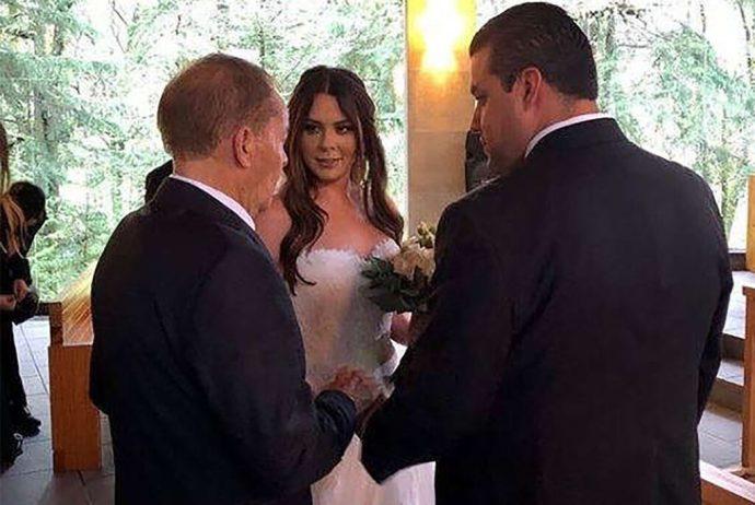 """Dio el """"sí"""" a su prometido Rodrigo Villa; la conductora en el programa 'Hoy', Paty Villanueva, se casó en secreto"""