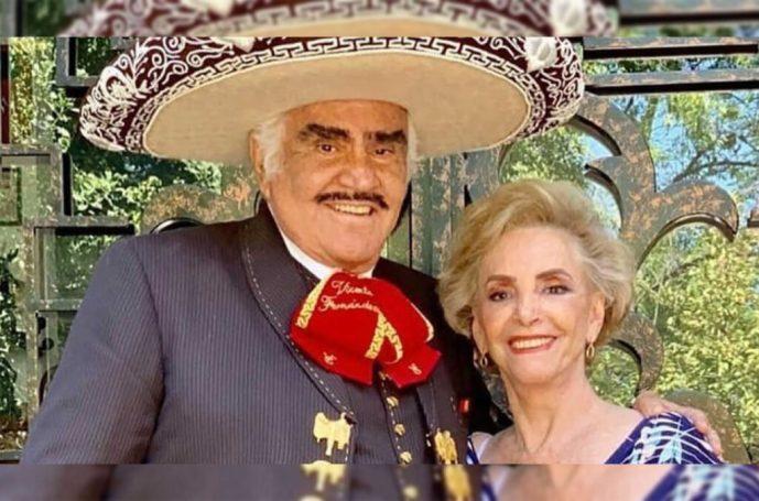 La esposa de Vicente Fernández, María del Refugio Abarca, se encuentra en recuperación tras ser operada de emergencia